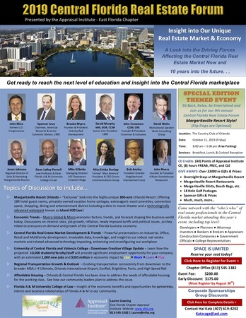 Central Florida Real Estate Forum Flyer Final 6 2019 Copy 2